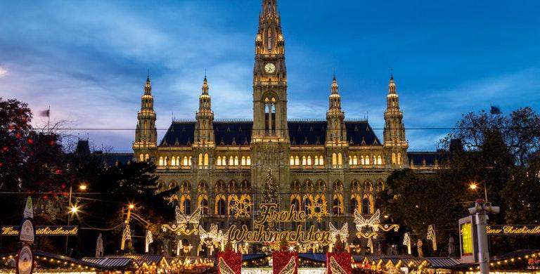 Christmas Markets in Europe, Wiener Christkindlmarkt Rathausplatz