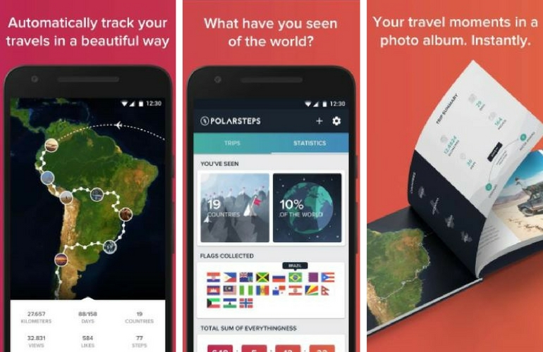 Mobile apps travelers
