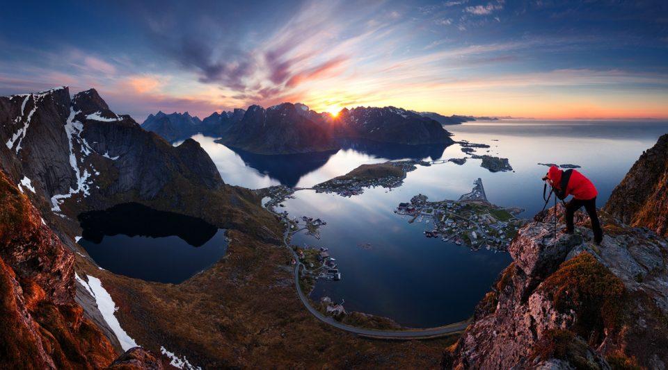 Hiking Reinebringen from Norway in pictures