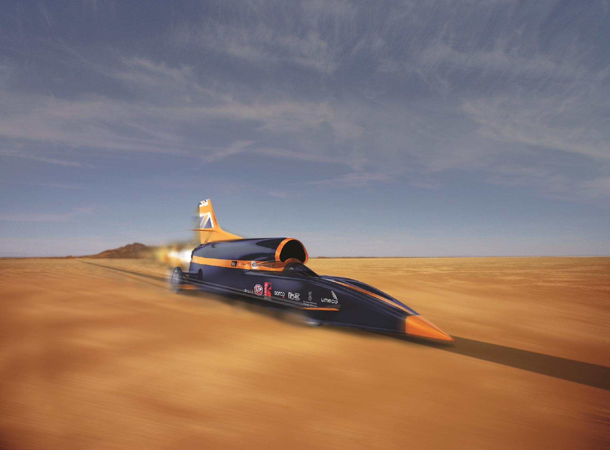 Speeding at Hakskeen Pan, Africa