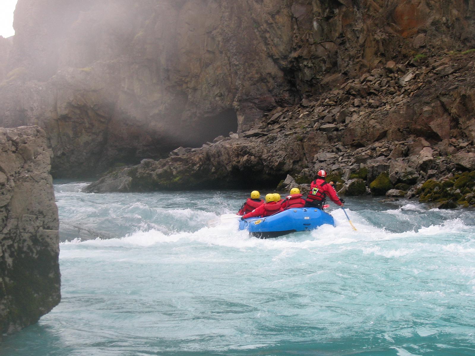 White Water Rafting in Hvita River