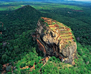 Srilanka top hill view
