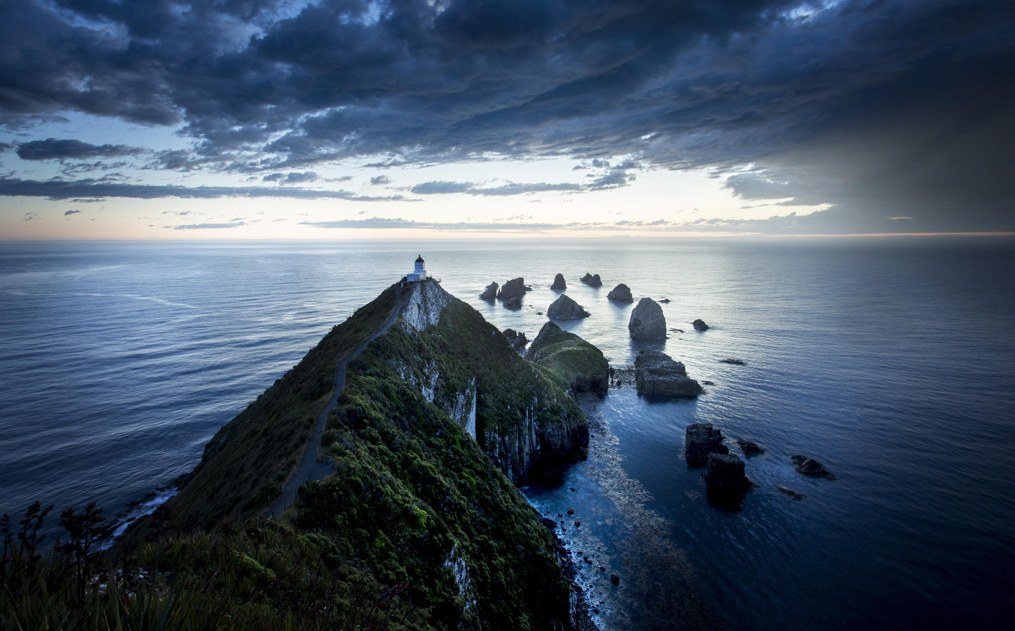 nugget point storm