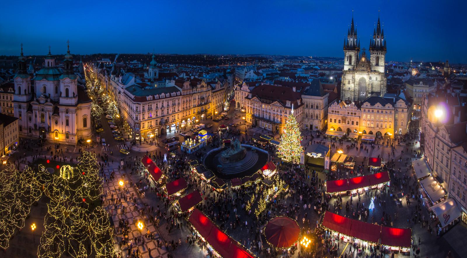 christmas markets, prague