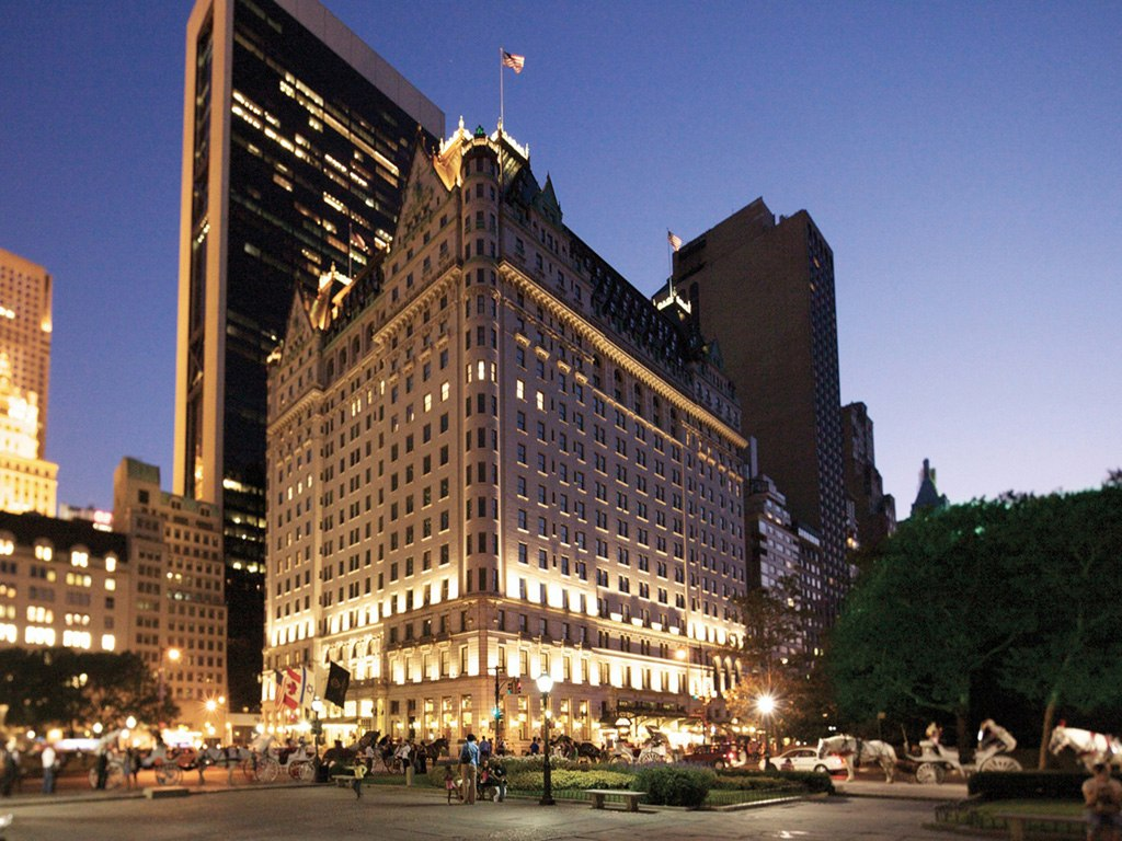 The Plaza from hotels around the world