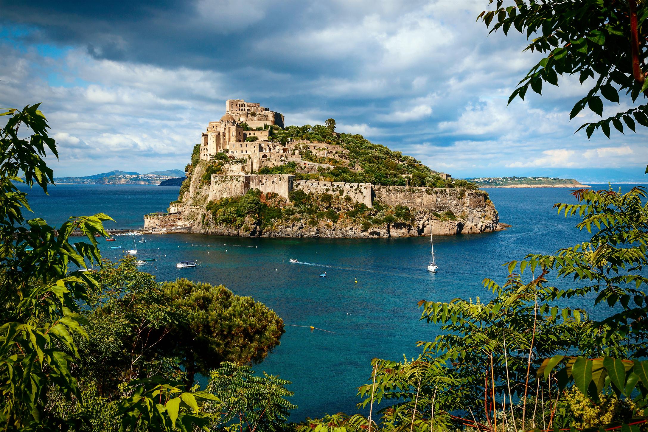 Aragonese-Castle-(Ischia-island)