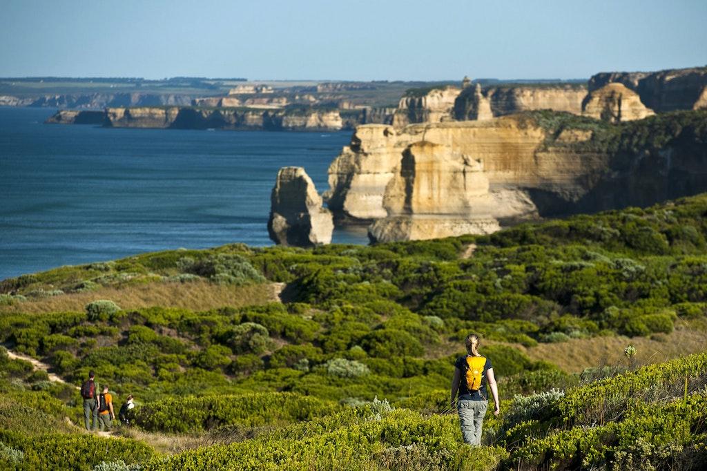 Great Ocean Walk, 12 Apostles, Gibson Steps, Victoria, Australia