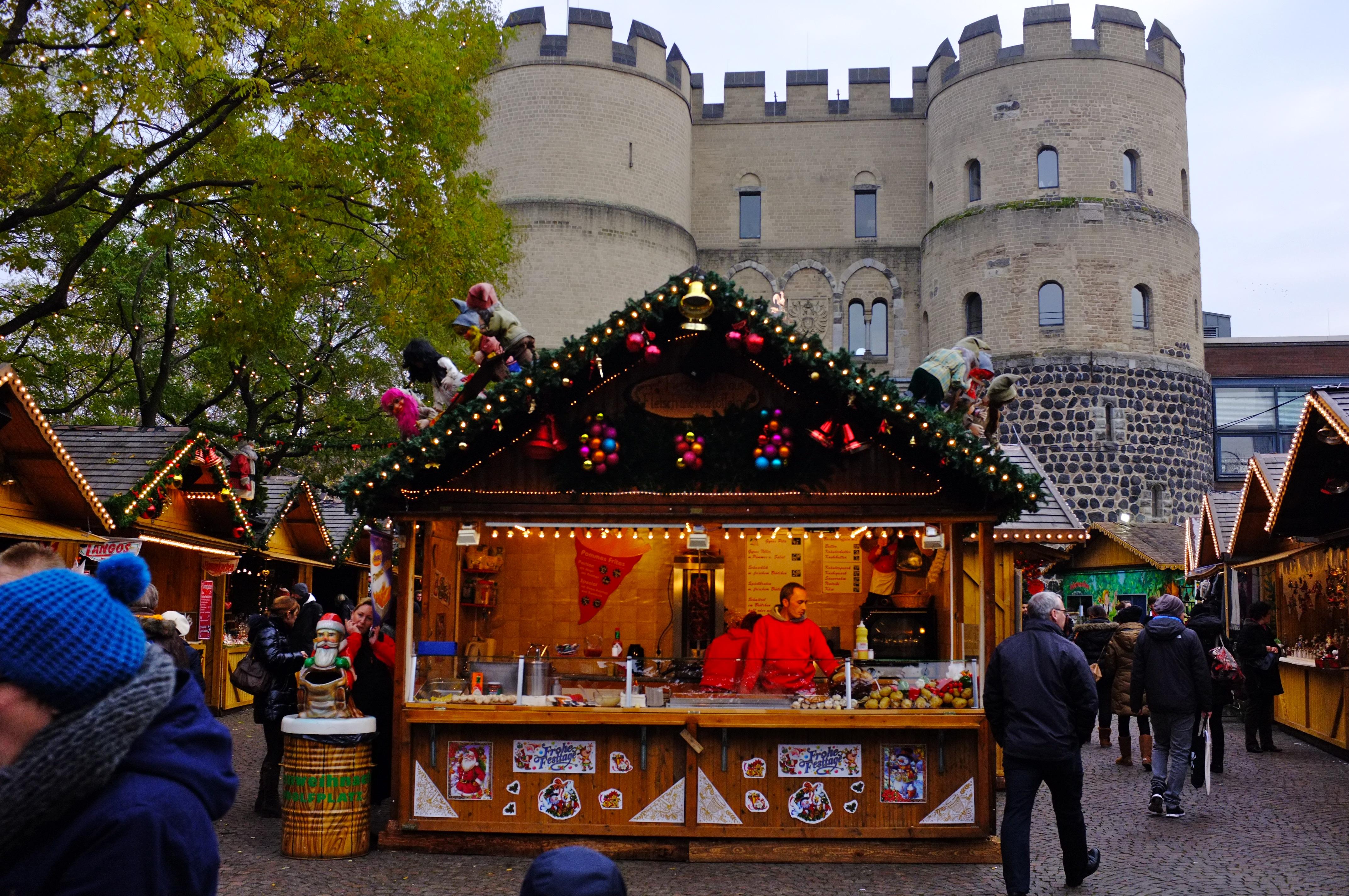 Rudolfplatz from Christmas markets of Germany