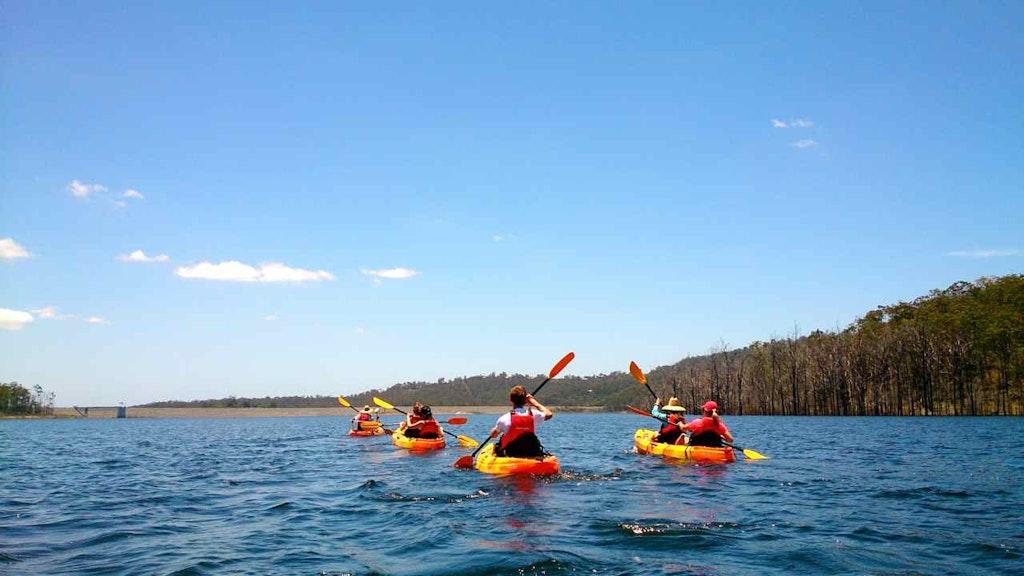 Kayaking from fun in Australia