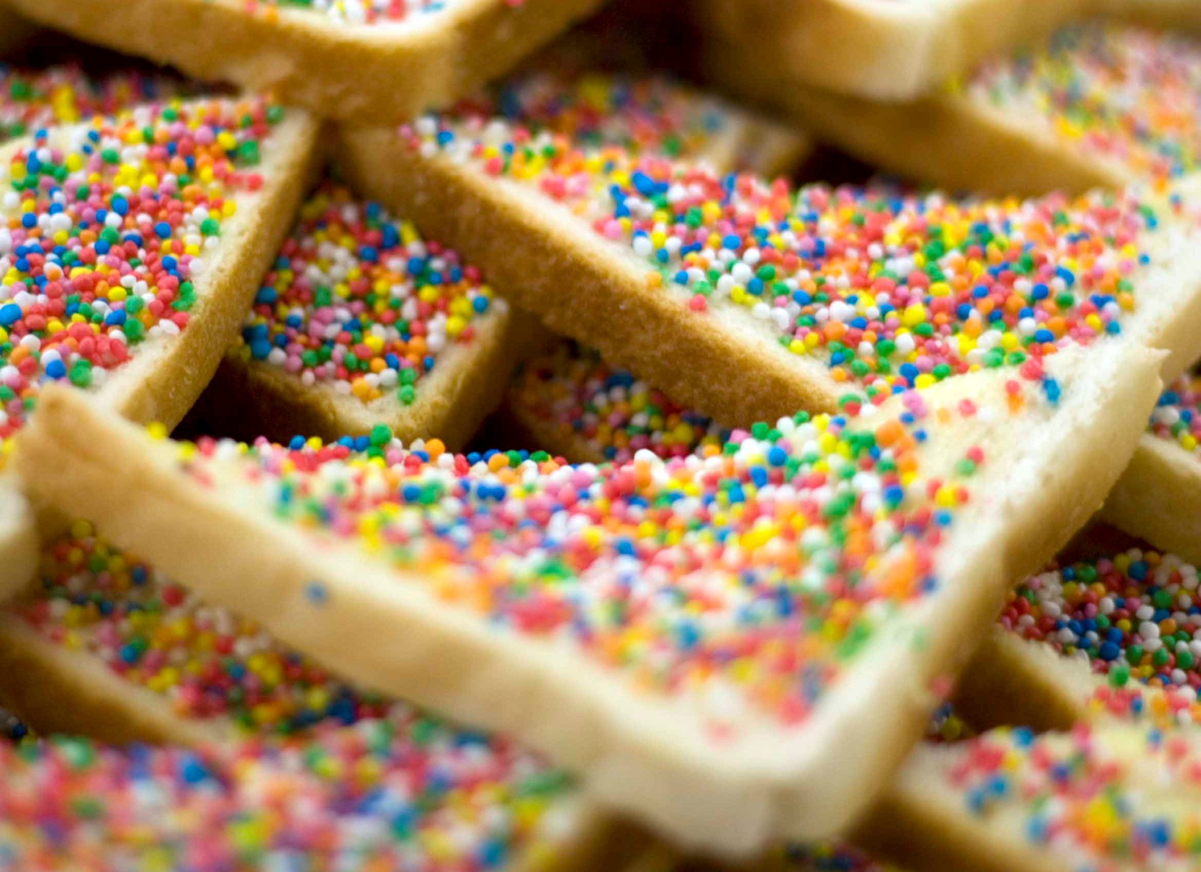 Fairy bread is what childhood is about in Australia