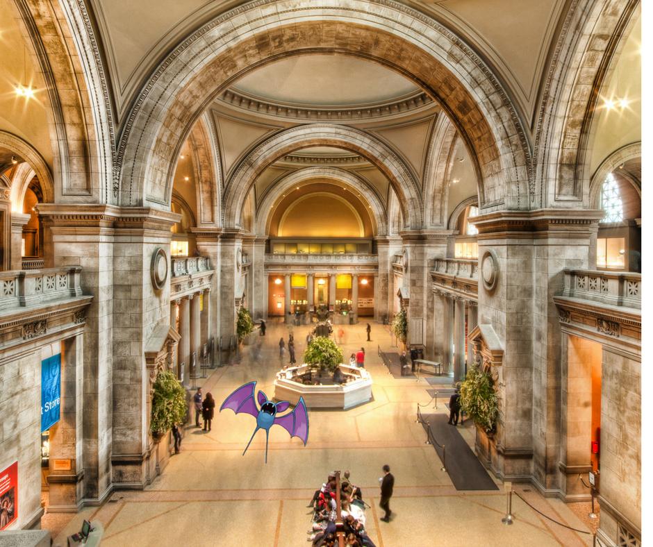 Zubat at the Metropolian Museum of Art in New York