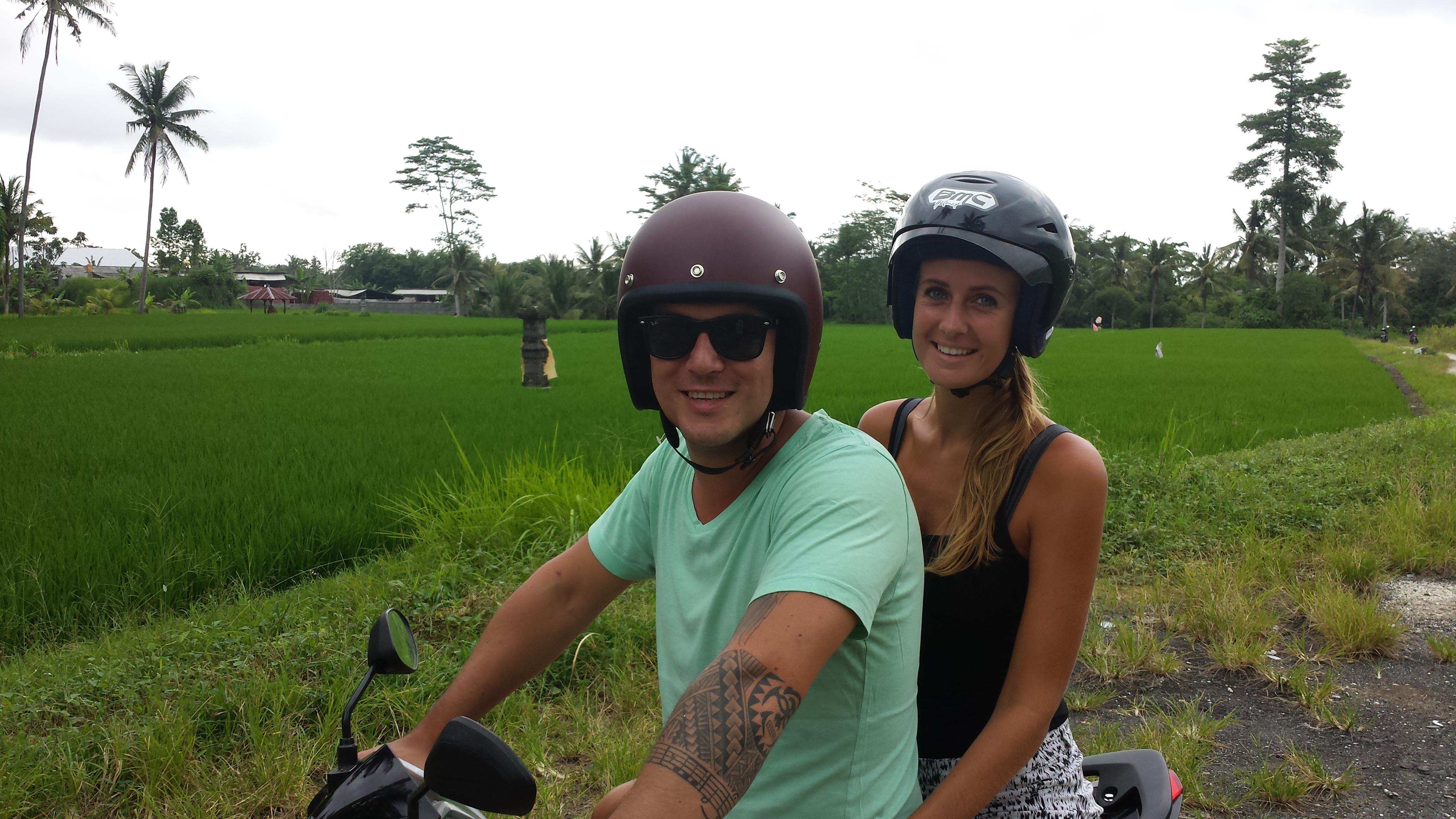 Motorbike in Bali