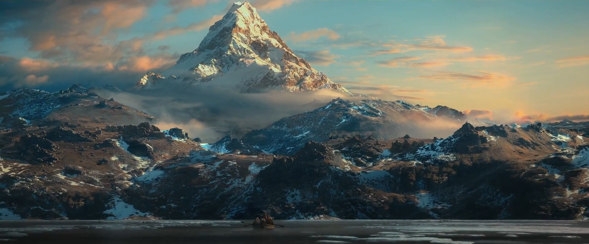 Filming location of the Lonely Mountain