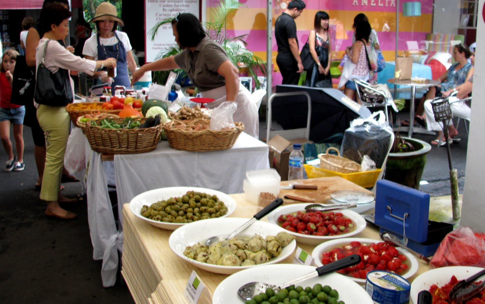 Kranji farmers market Singapore