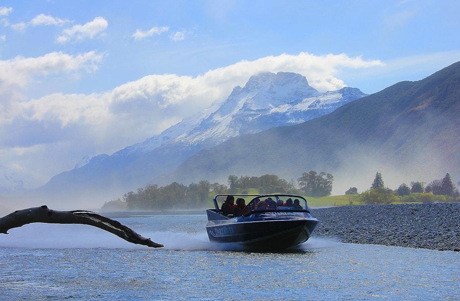 Jetboating on Dart River