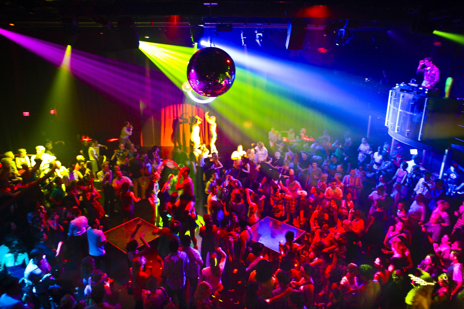 A discotheque in Pattaya