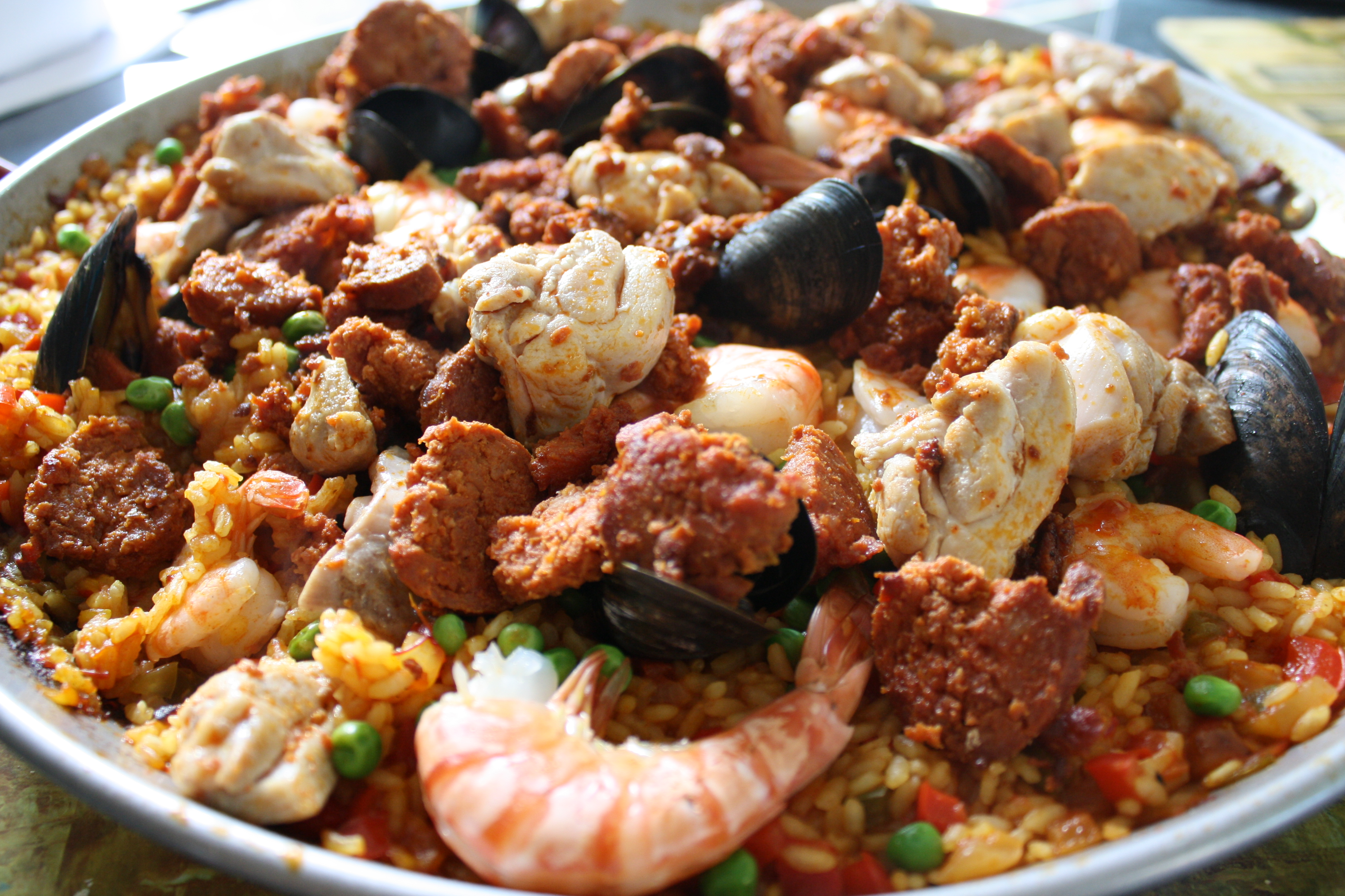 Paella in the paella cook-off contest