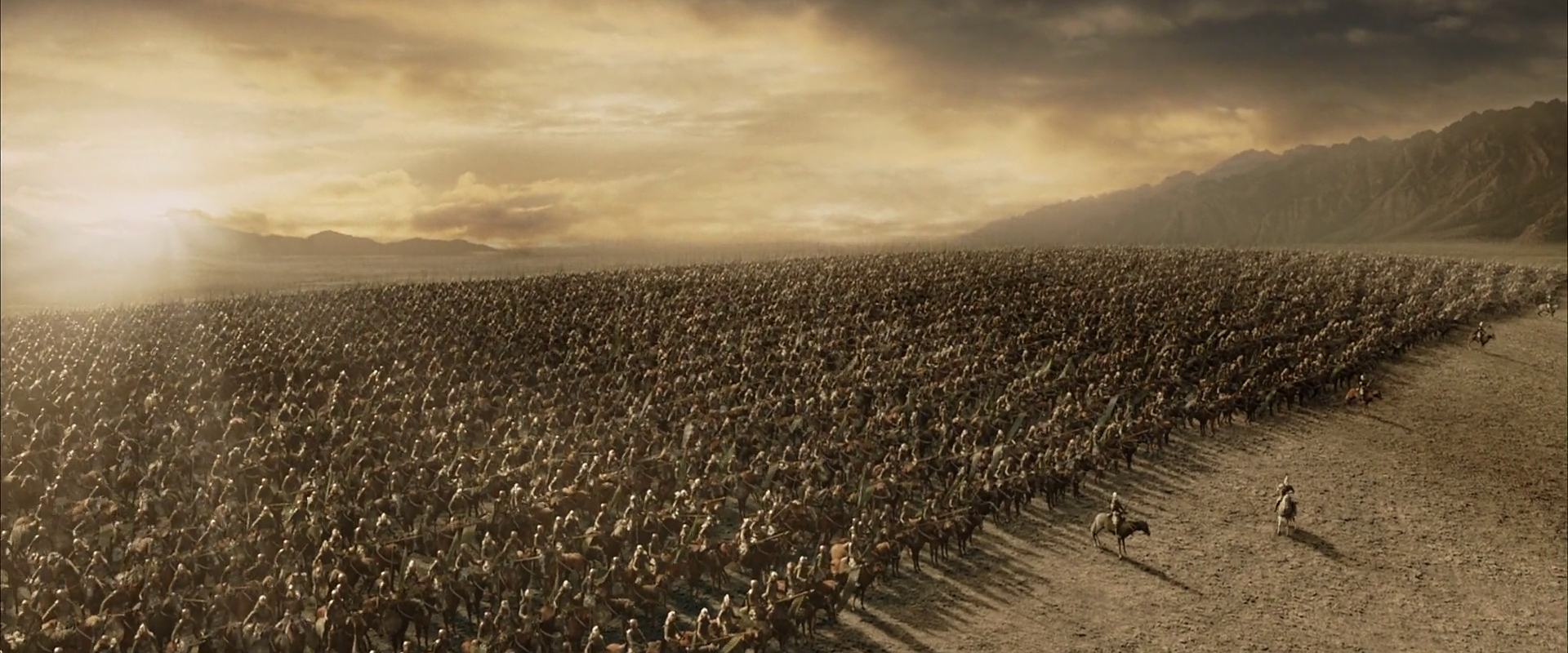 Preparing for Battle of Pelennor fields