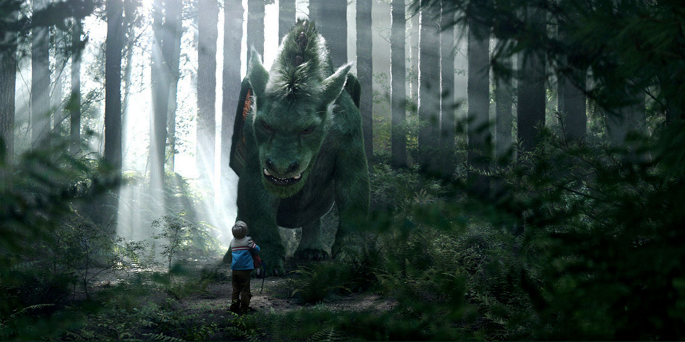 Scene from Pete's Dragon featuring forest on Mount Victoria