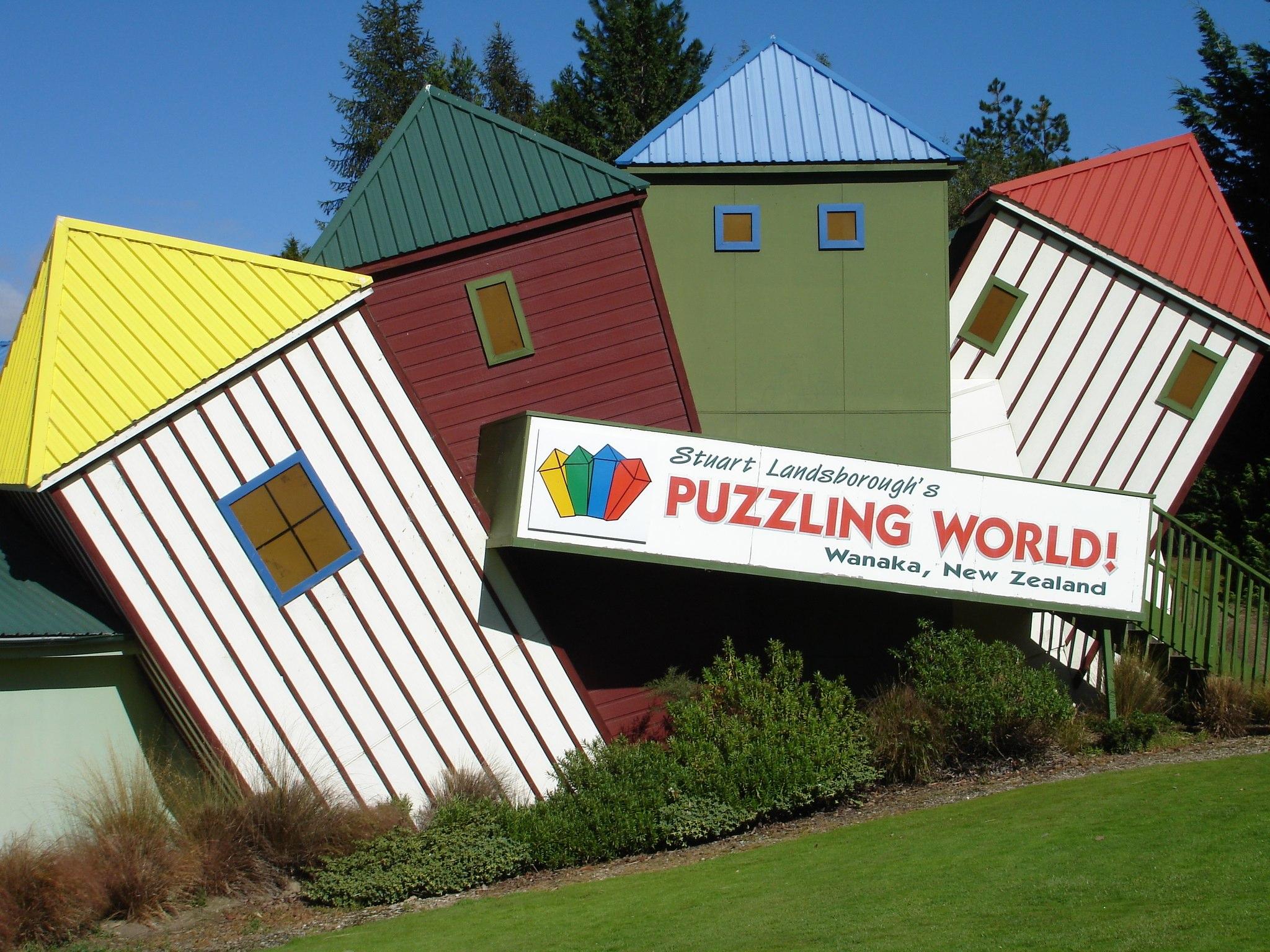 Puzzling World in Wanaka