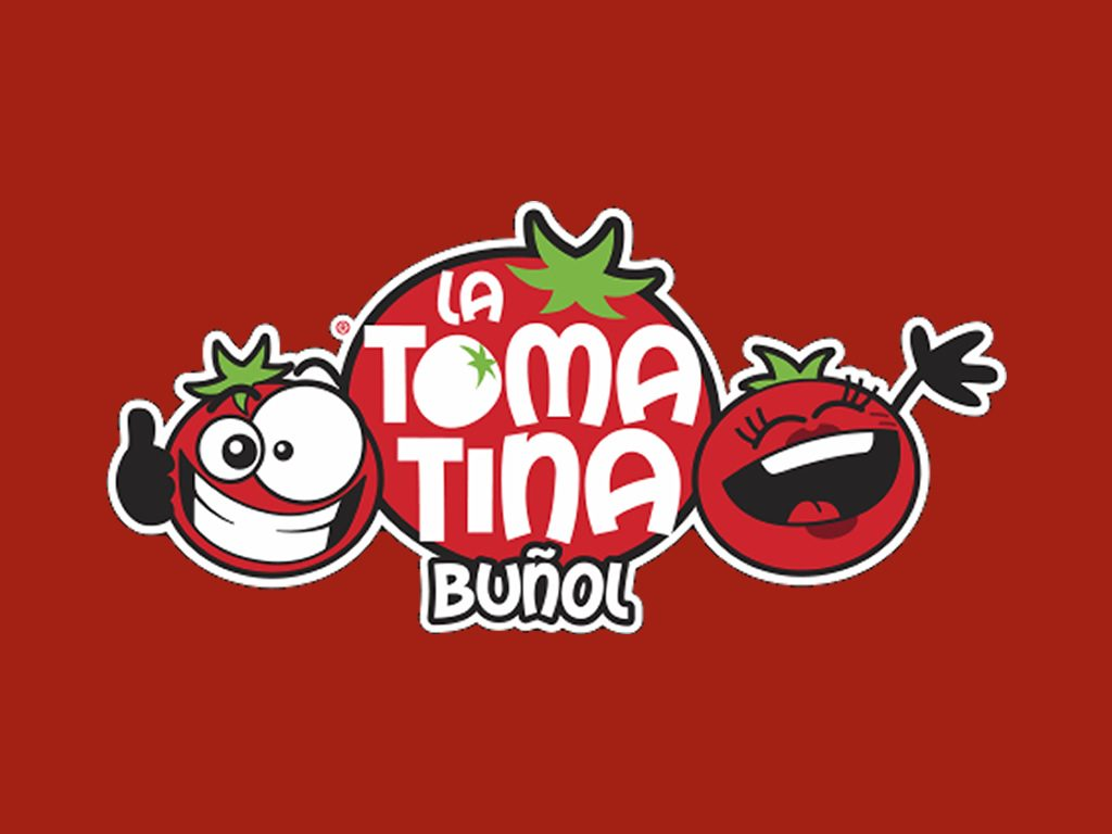 The La Tomatina festival poster