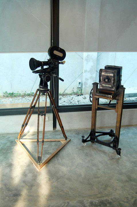 A camera dating back to World War 1