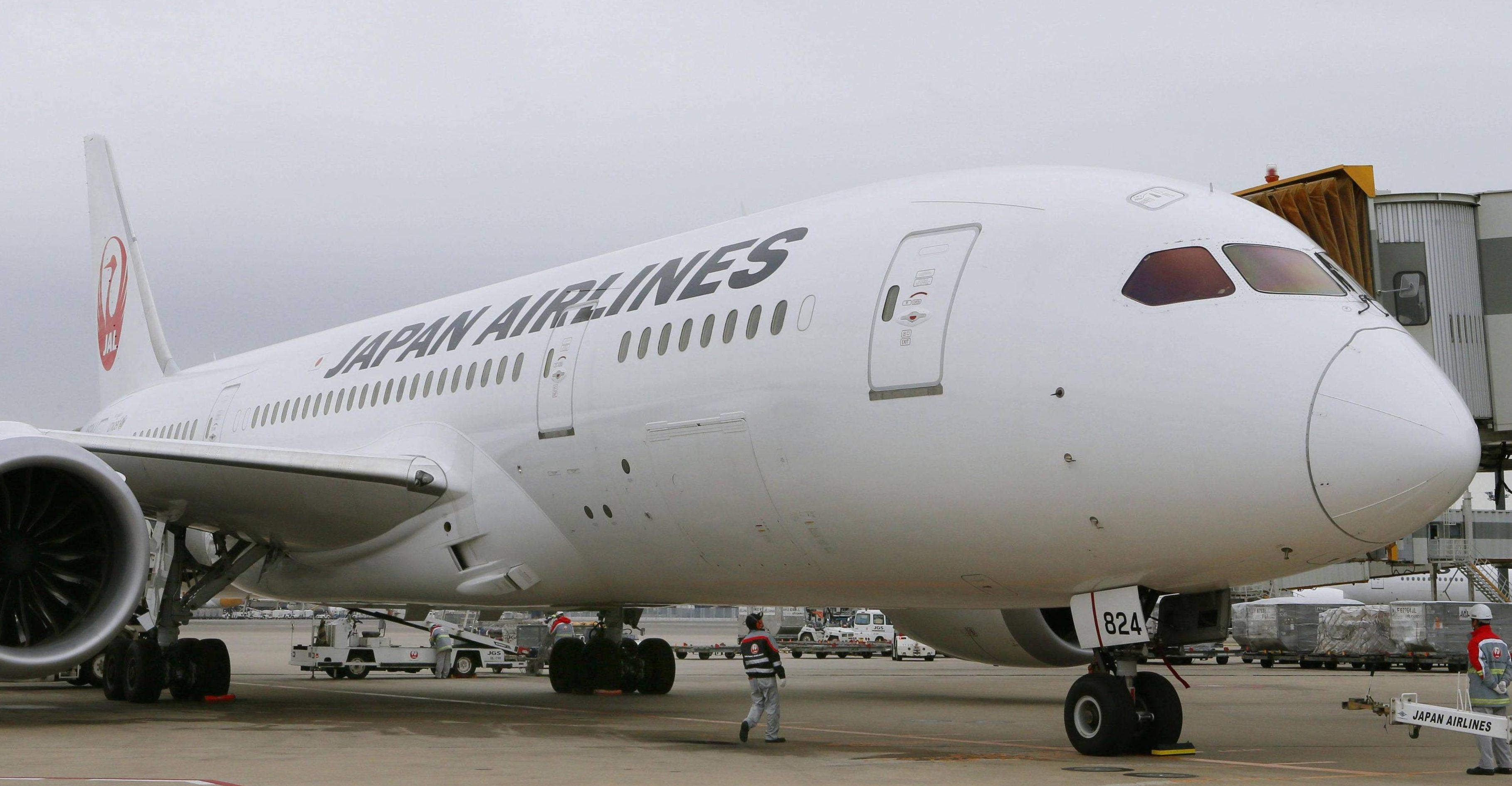 A flight to Japan