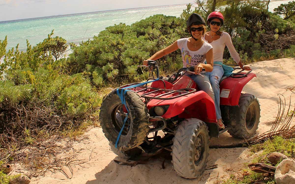 The ATV riding experience