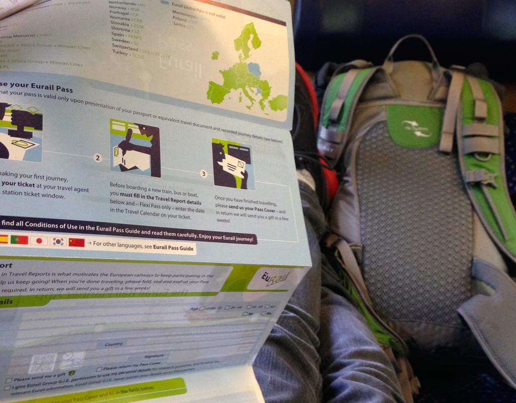 Eurail pass information