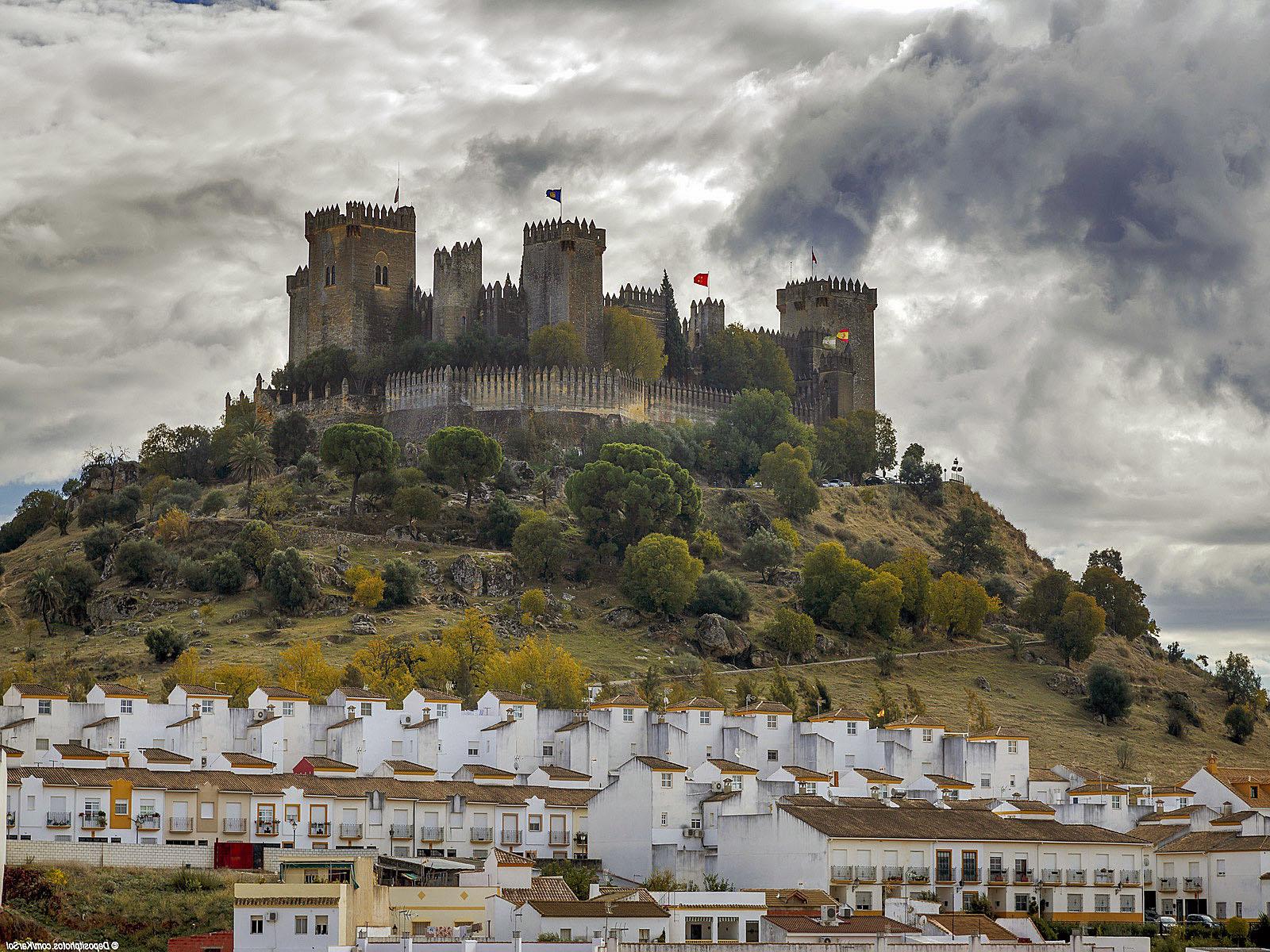 Almodovar del Rio, Cordoba Spain. Artistic and Monumental Heritage