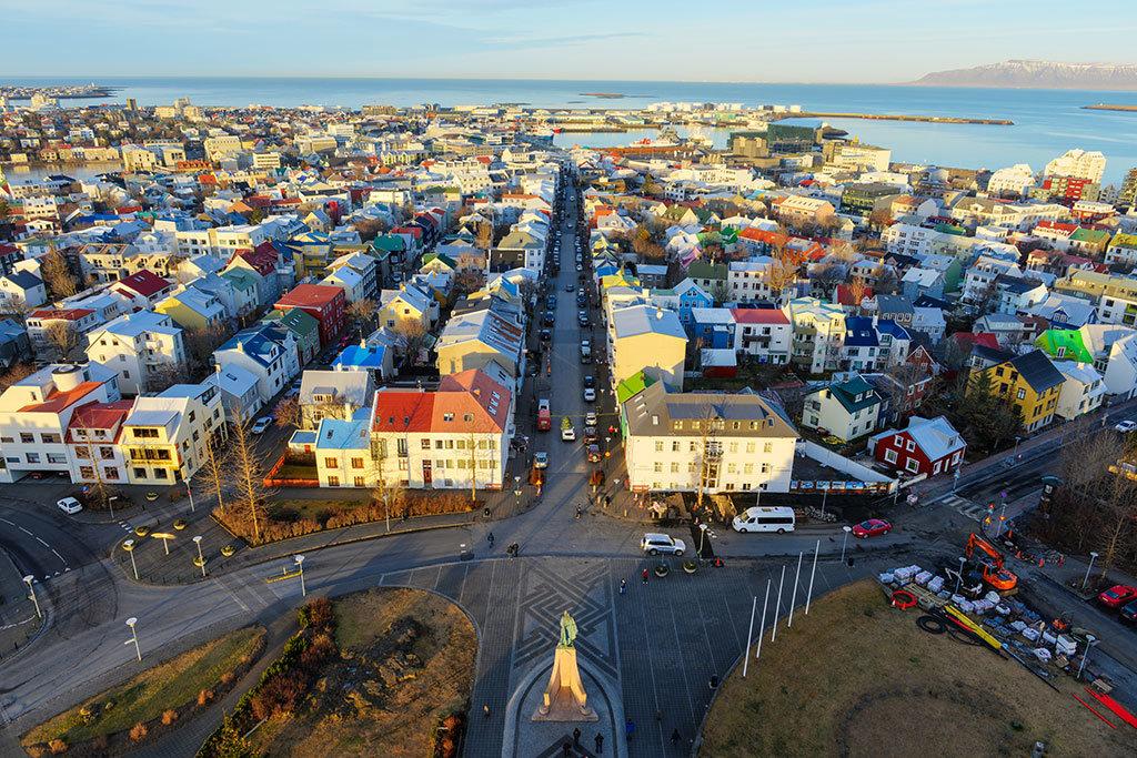 Reykjavik City walk