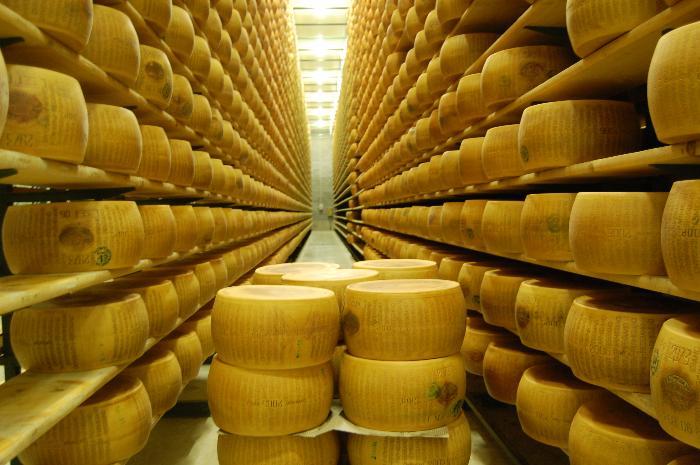 parmesan-warehouse, Parma Italy