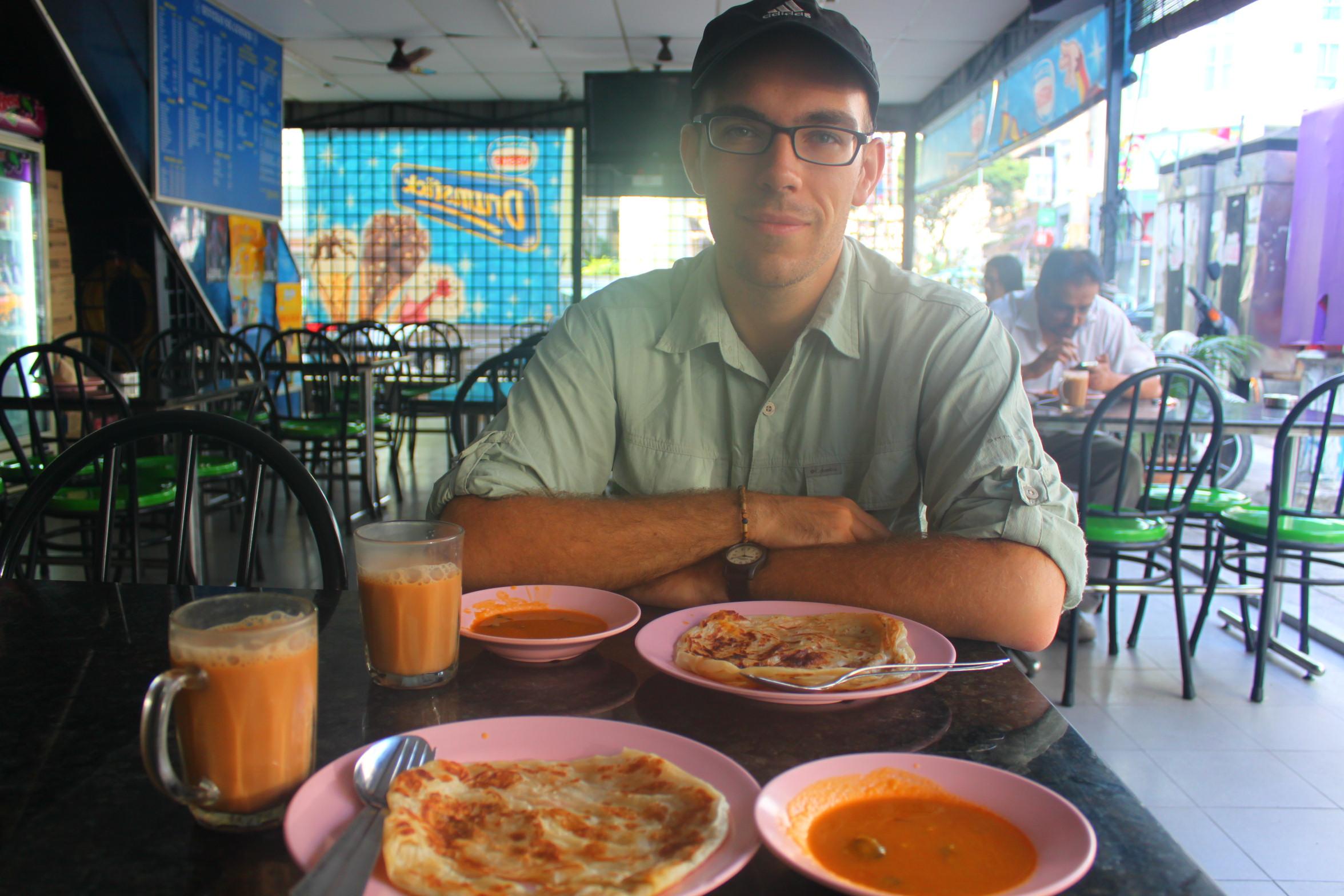 Lunch at Roti Canai