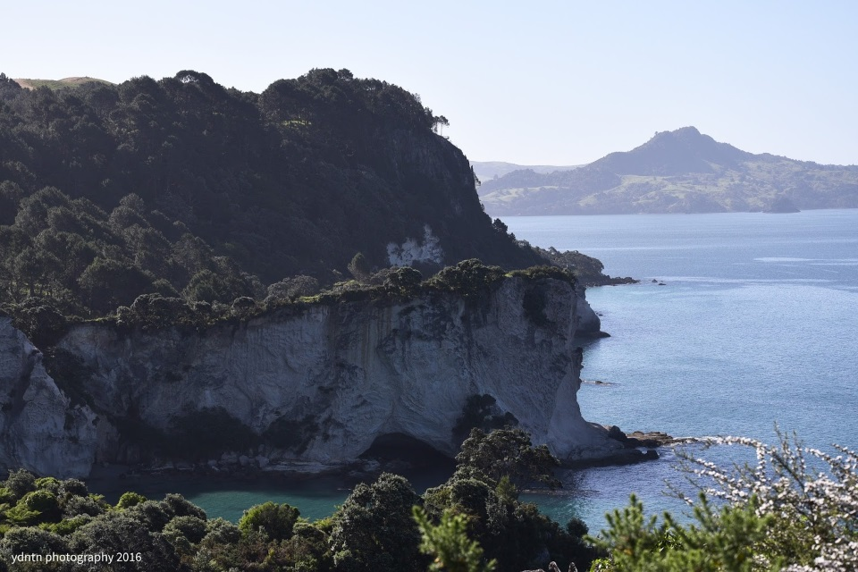 en route to Cathedral Cove