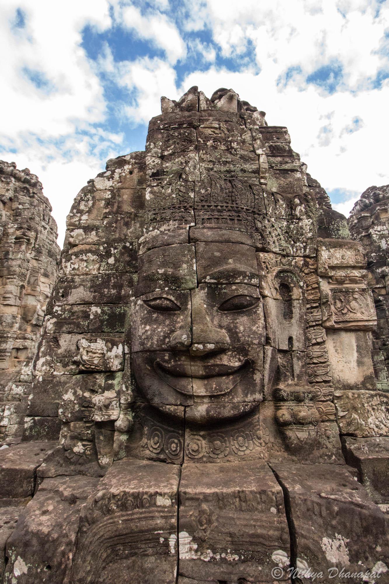 At Banteay Srei