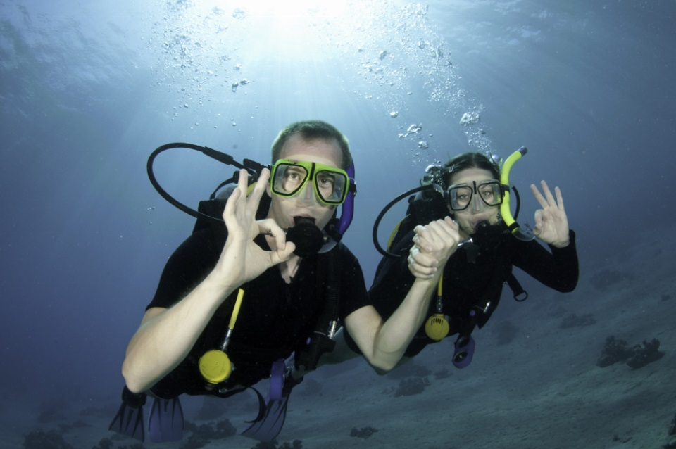 Snorkelling at Seychelles