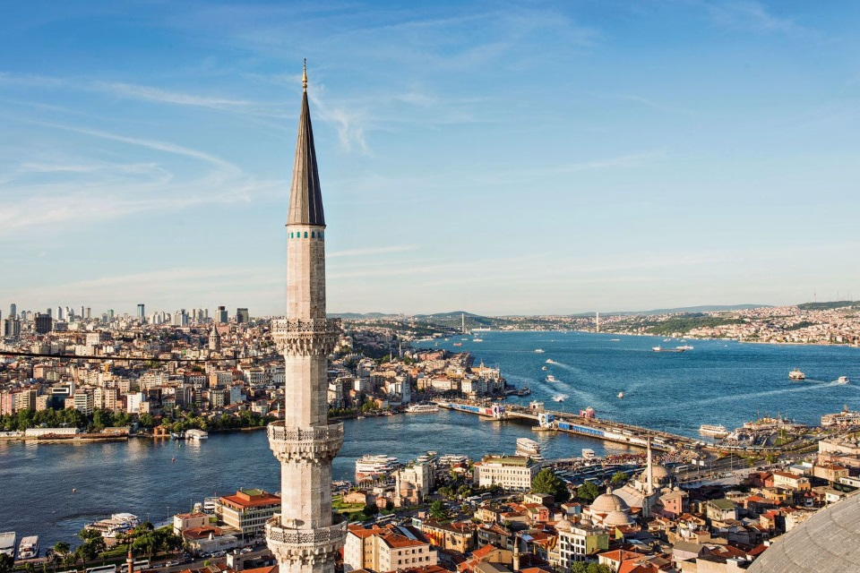 Touring Istanbul