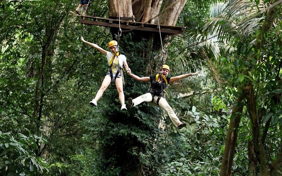 Ziplining in Phuket