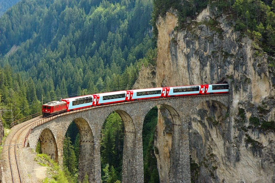 train rides in Europe