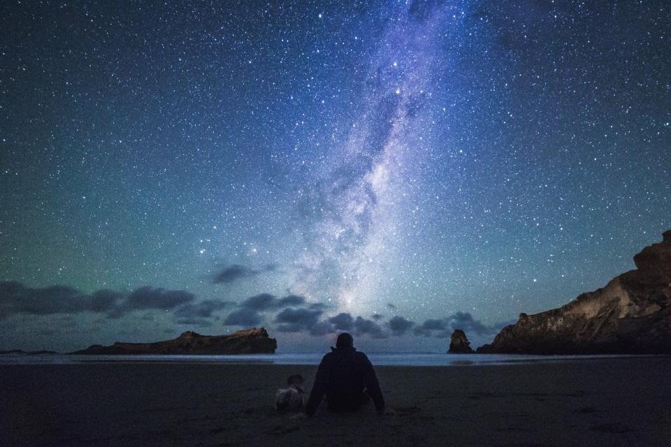 Stargazing in New Zealand