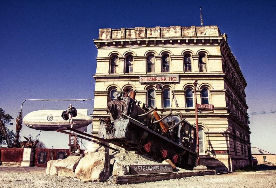 Steampunk HQ Museum