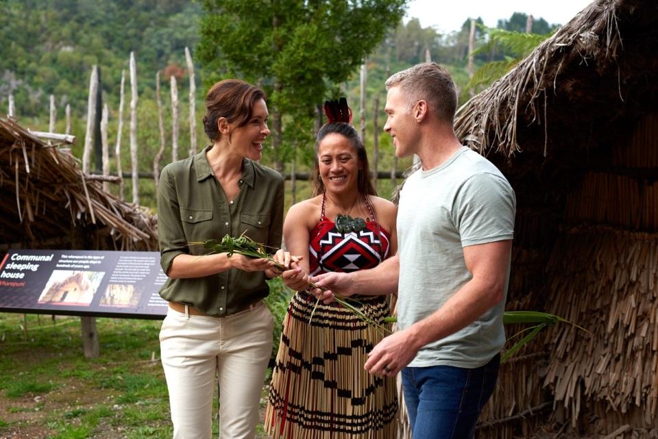 Tamaki Maori village experience