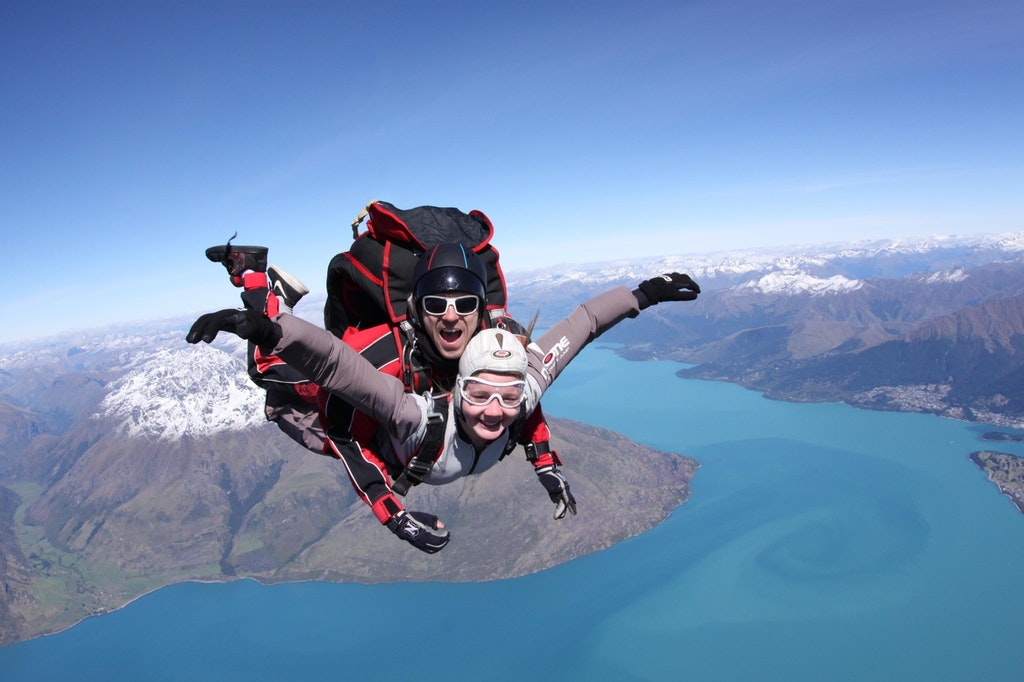 Things to do in Queenstown, Southern Alps, Queenstown, Queenstown, New Zealand, Skydiving, skydiving in New Zealand