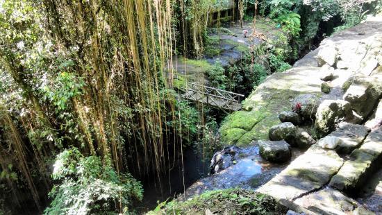 Tebing Tegallinggah Temple - A Bali Tourist Attraction