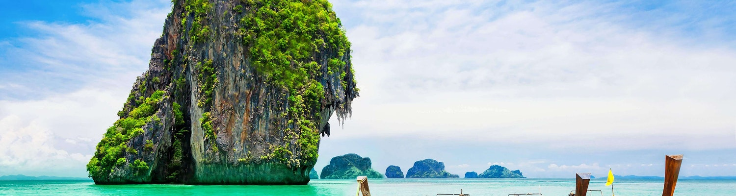 View of Coral Island in Pattaya