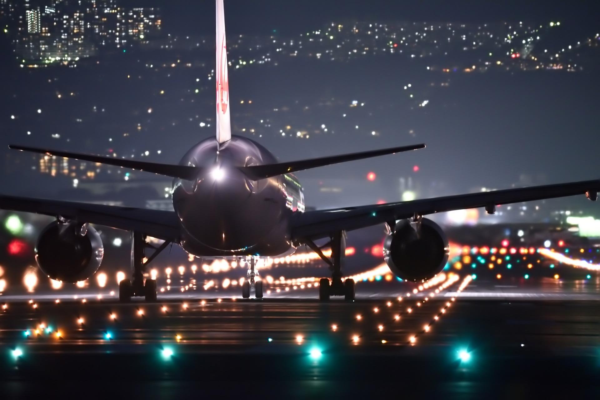 Airports flight takeoff