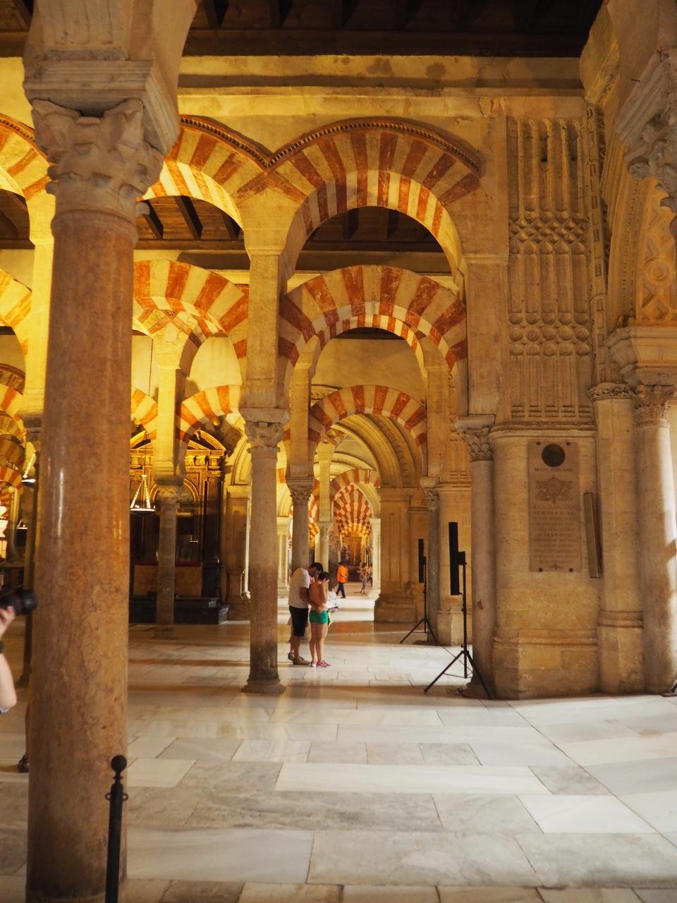 Inside Mezquita