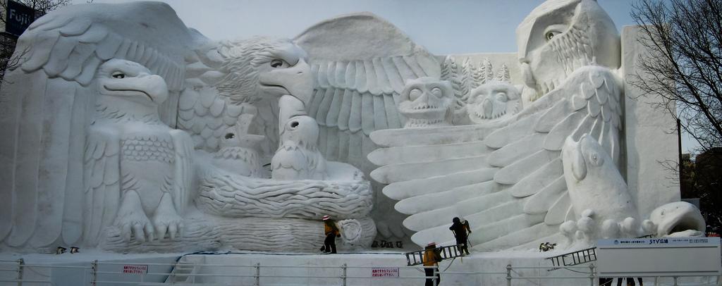 Sapporo Snow Festival, Japan