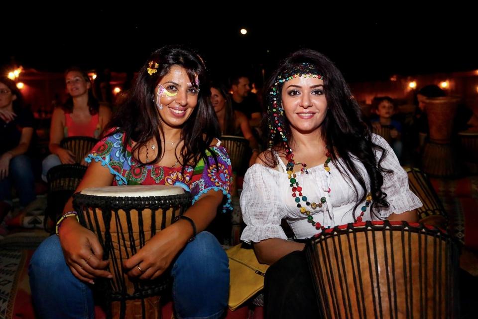 Dubai Drum experience