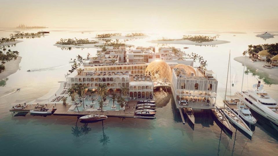 Dubai's Floating Venice